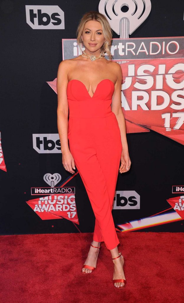 Stassi Schroeder at the iHeartRadio Music Awards in Los Angeles 03/05/2017-3