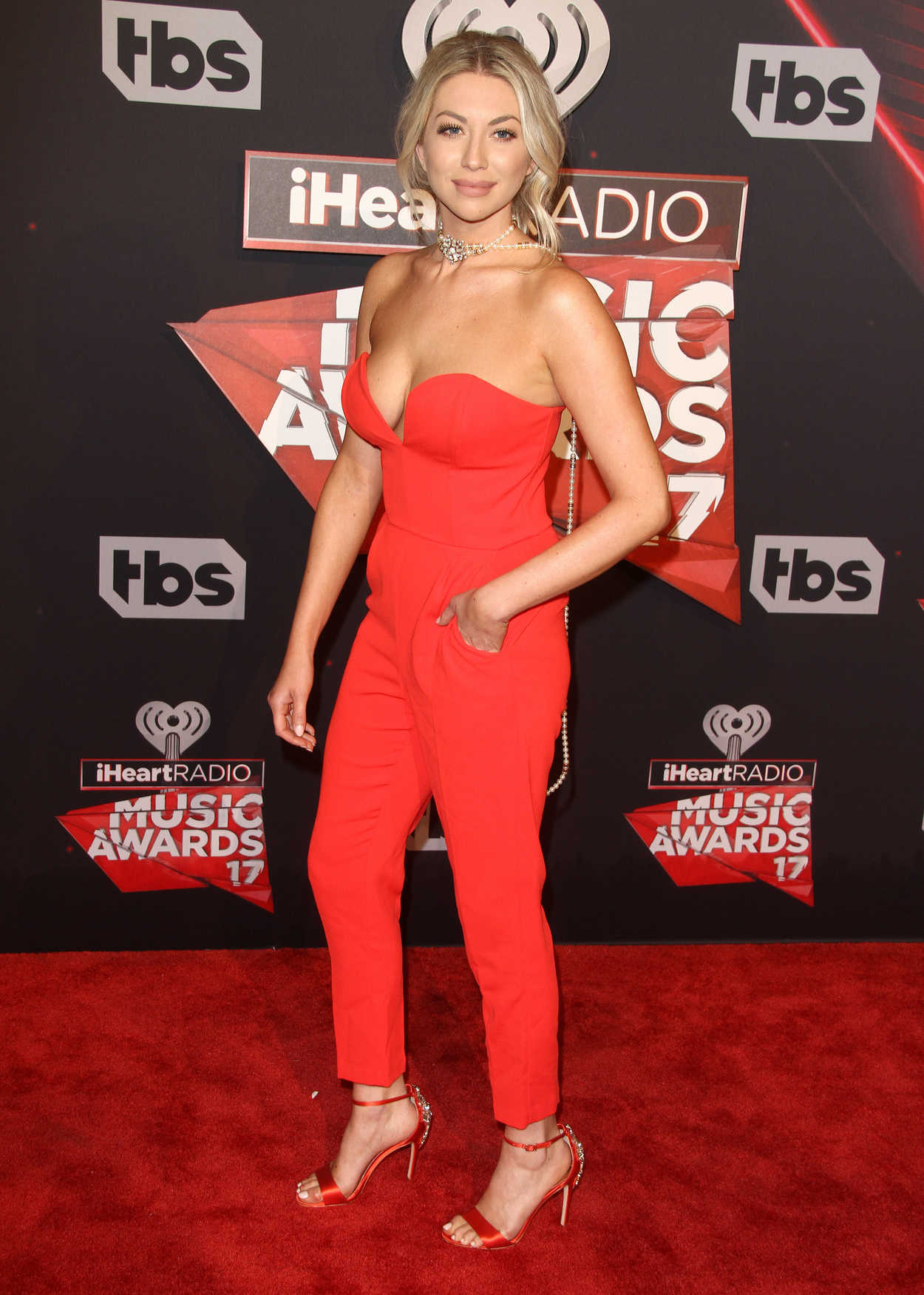 Stassi Schroeder at the iHeartRadio Music Awards in Los Angeles 03/05/2017