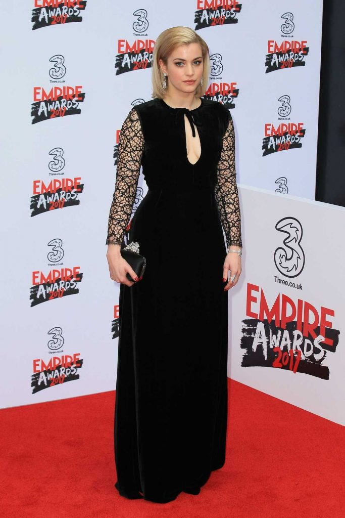 Stefanie Martini at the Three Empire Awards at Roundhouse in London 03/19/2017-4
