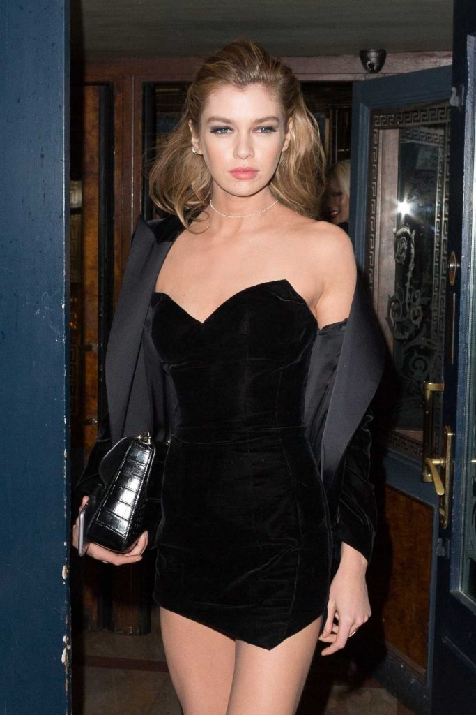Stella Maxwell at the V Magazine Dinner During the Paris Fashion Week 03/07/2017-1