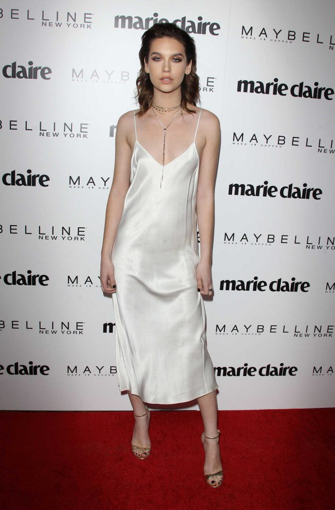 Amanda Steele at the Marie Claire Celebrates Fresh Faces Event in Los Angeles 04/21/2017-1