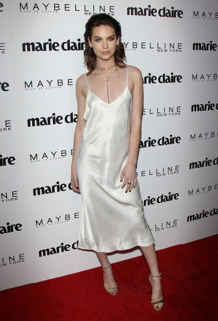 Amanda Steele at the Marie Claire Celebrates Fresh Faces Event in Los Angeles 04/21/2017-2