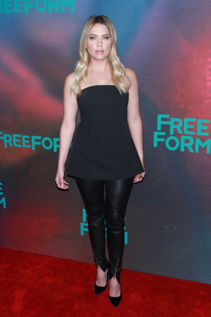 Ashley Benson at the Freeform 2017 Upfront at Hudson Mercantile in New York 04/19/2017-1