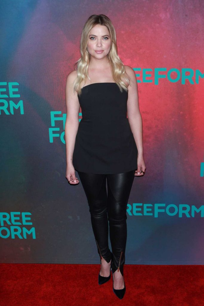 Ashley Benson at the Freeform 2017 Upfront at Hudson Mercantile in New York 04/19/2017-2