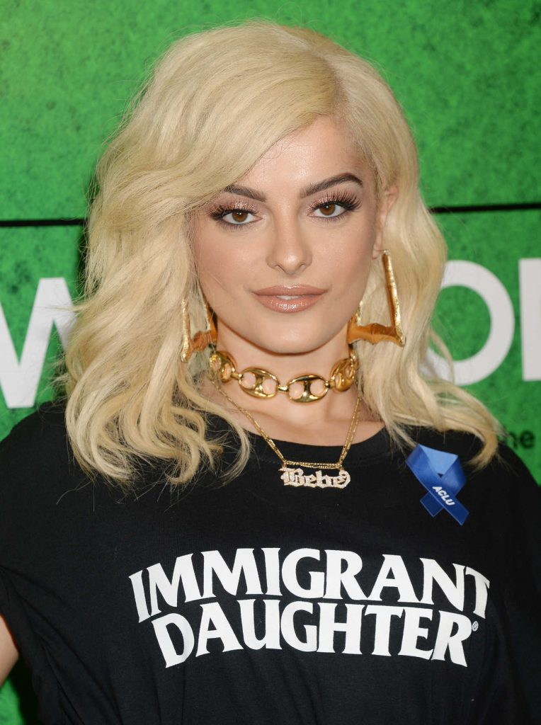 Bebe Rexha at the Zedd's Welcome! ACLU Benefit Concert in Los Angeles 04/03/2017-5