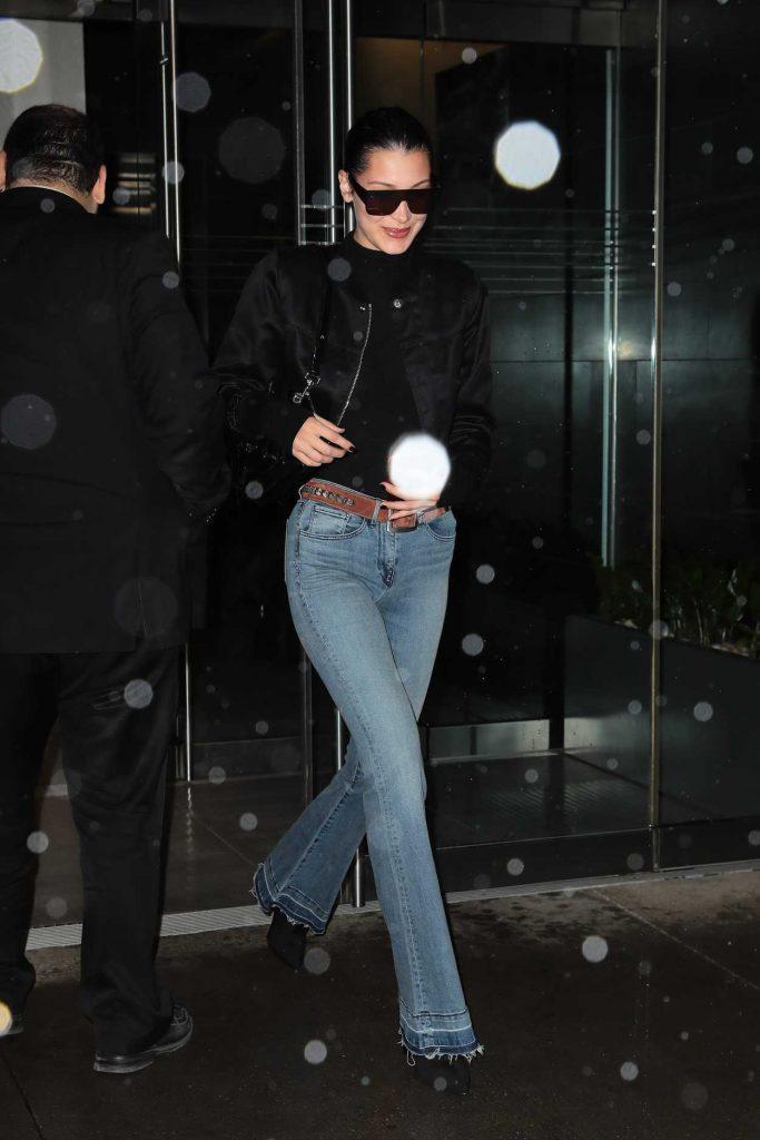 Bella Hadid Leaves Her Apartment in Manhattan 03/31/2017-1
