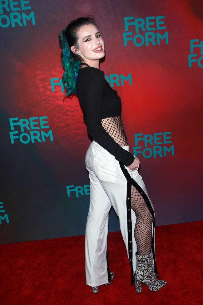 Bella Thorne at the Freeform 2017 Upfront at Hudson Mercantile in New York 04/19/2017-2