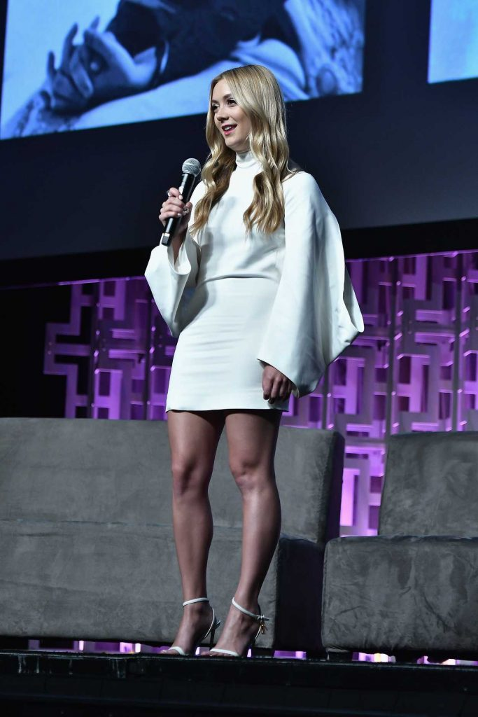 Billie Lourd Attends the 40 Years of Star Wars Panel at Orange County Convention Center in Orlando 04/13/2017-1