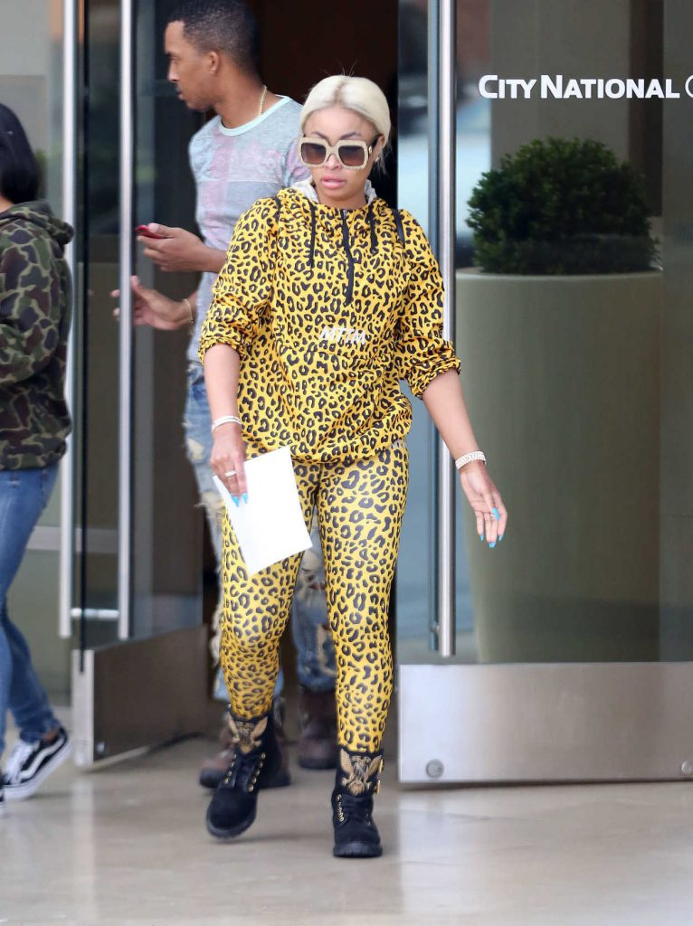 Blac Chyna Was Seen Out in Beverly Hills 04/17/2017-1