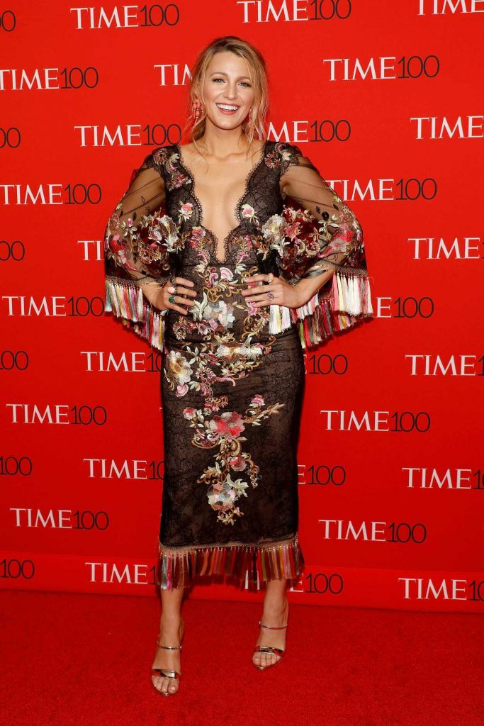 Blake Lively at the 2017 Time 100 Gala at Jazz at Lincoln Center in New York 04/25/2017-1