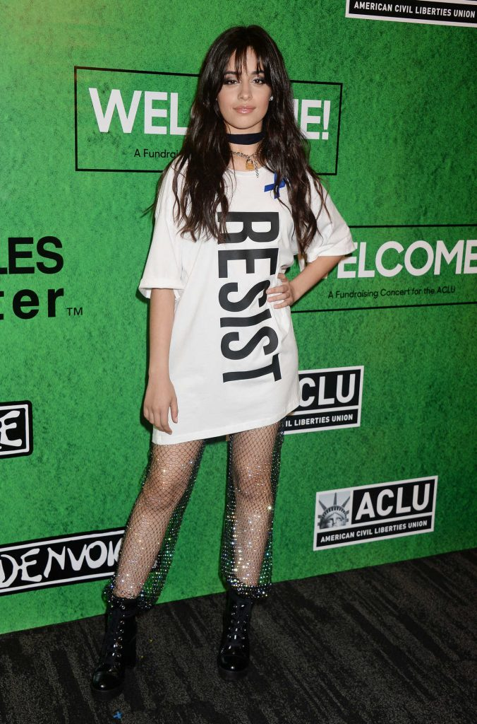 Camila Cabello at the Zedd's Welcome! ACLU Benefit Concert in Los Angeles 04/03/2017-1