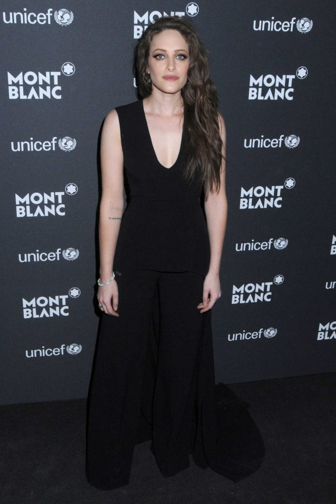 Carly Chaikin at the Montblanc Gala Dinner at the New York Public Library in New York City 04/04/2017-1
