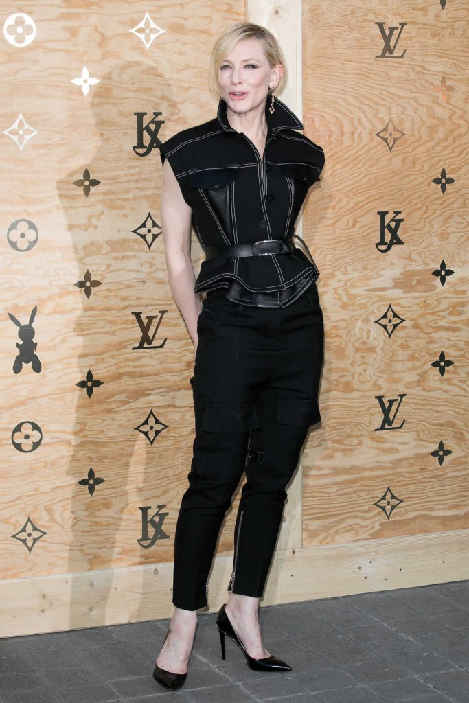 Cate Blanchett at the Louis Vuitton Dinner Party at the Louvre in Paris 04/11/2017-2