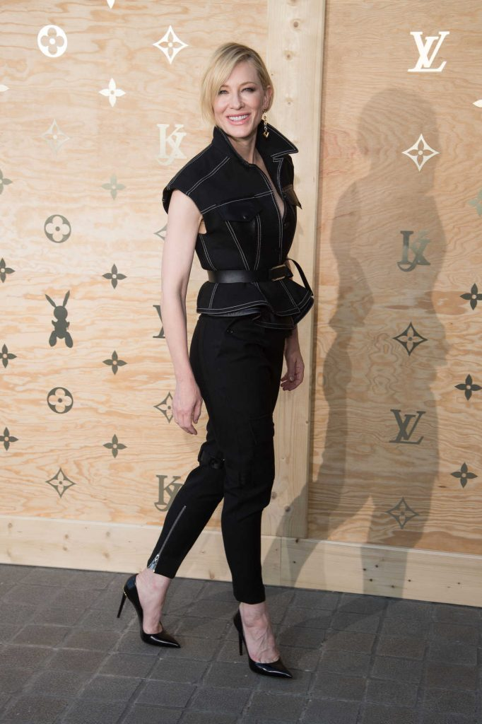 Cate Blanchett at the Louis Vuitton Dinner Party at the Louvre in Paris 04/11/2017-3