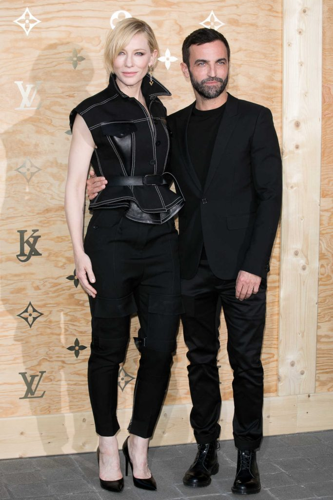 Cate Blanchett at the Louis Vuitton Dinner Party at the Louvre in Paris 04/11/2017-4