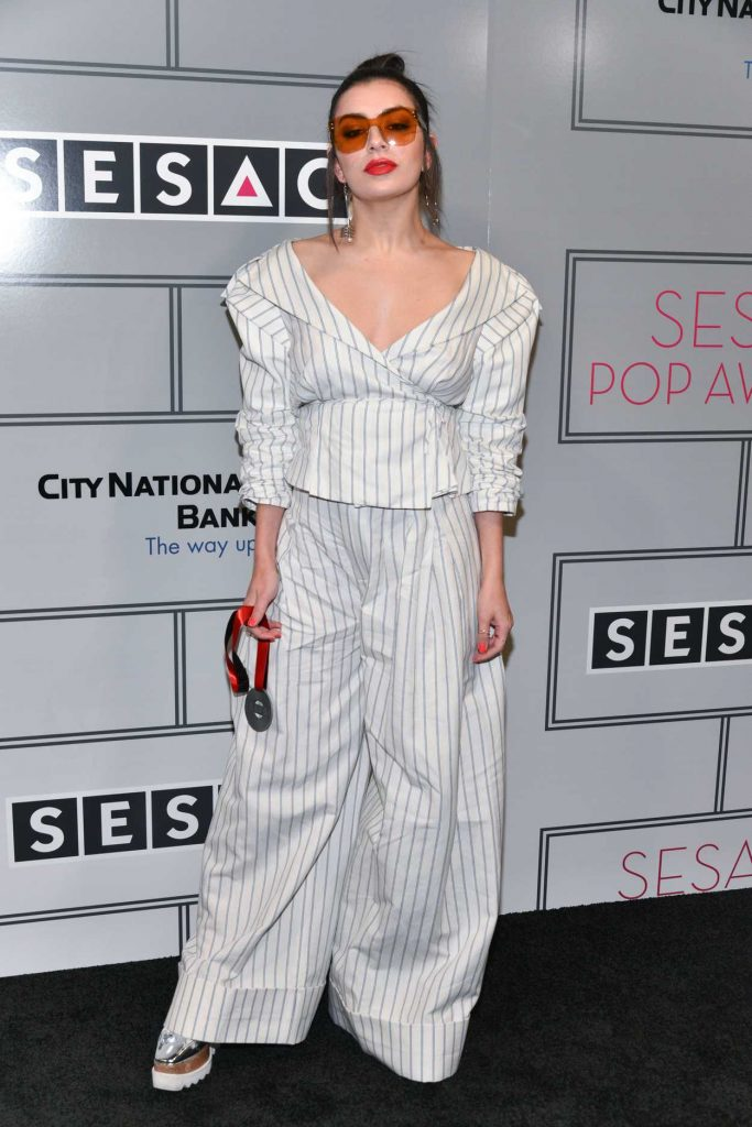 Charli XCX at the Sesac Pop Music Awards in New York 04/13/2017-1