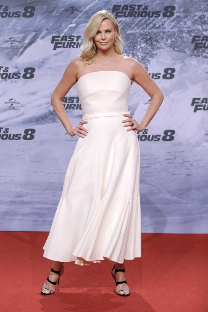 Charlize Theron at the Fast and Furious 8 German Premiere at CineStar Sony Center in Potsdam 04/04/2017-1