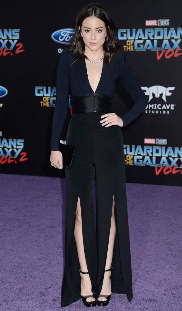 Chloe Bennet at the Guardians of the Galaxy Vol 2 Los Angeles Premiere 04/19/2017-1
