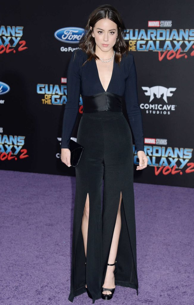 Chloe Bennet at the Guardians of the Galaxy Vol 2 Los Angeles Premiere 04/19/2017-2