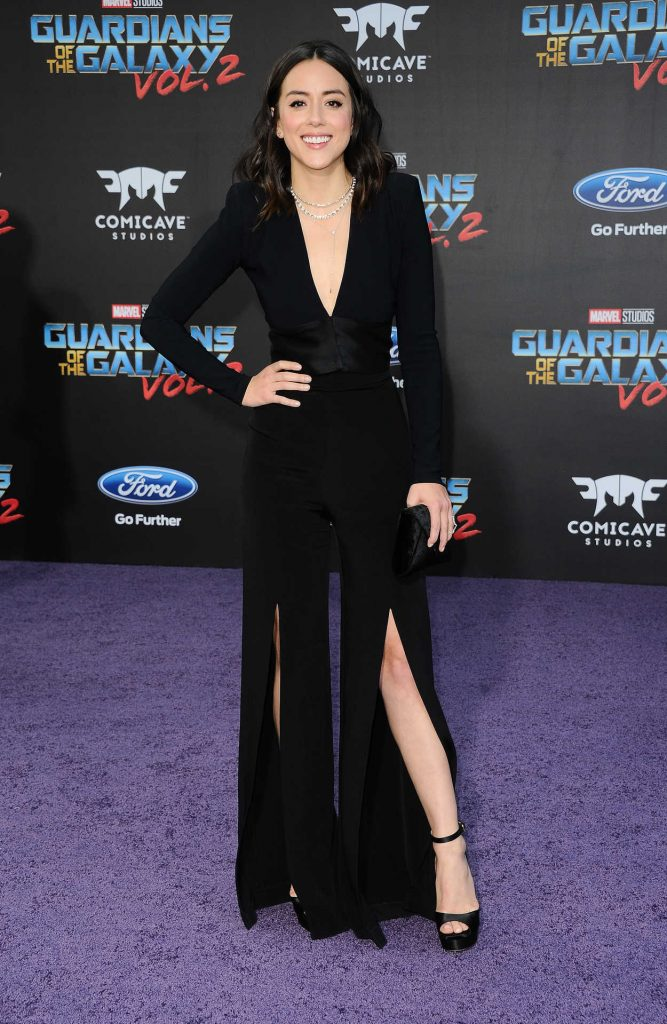 Chloe Bennet at the Guardians of the Galaxy Vol 2 Los Angeles Premiere 04/19/2017-3