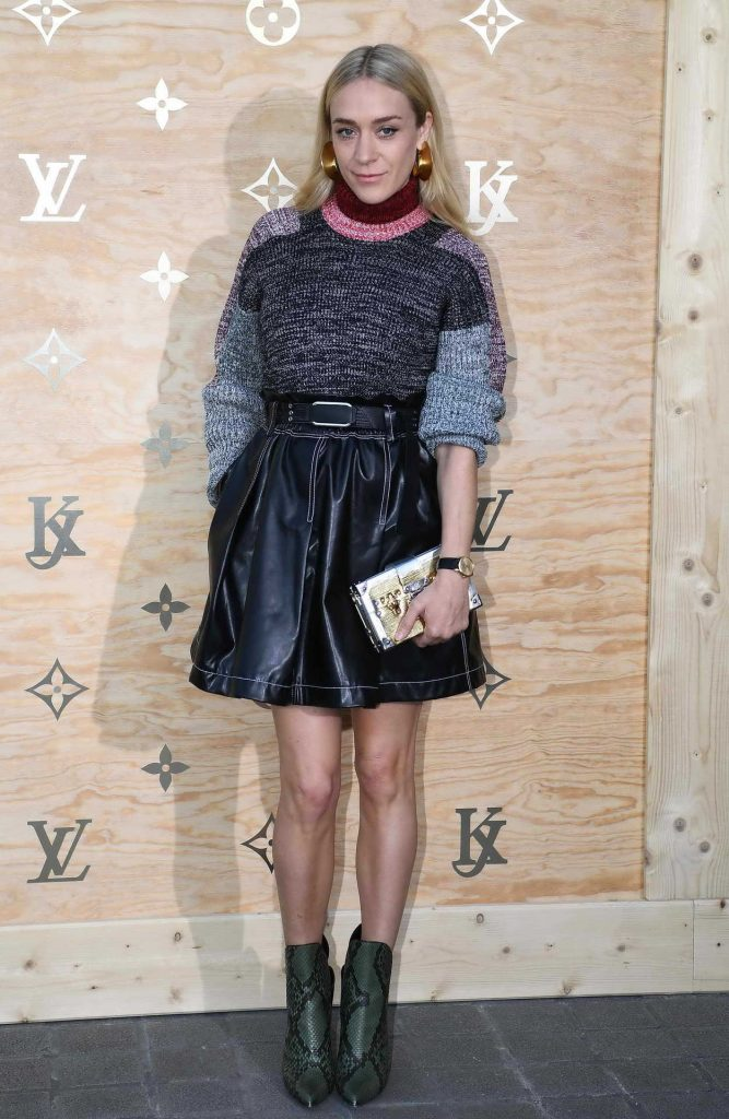 Chloe Sevigny at the Louis Vuitton Dinner Party at the Louvre in Paris 04/11/2017-2