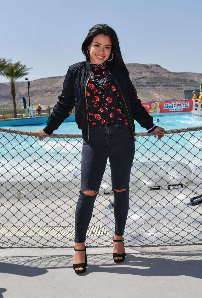 Cierra Ramirez at the Josh Stevens Foundation Be Kind Pledge Day in Las Vegas 04/08/2017-2