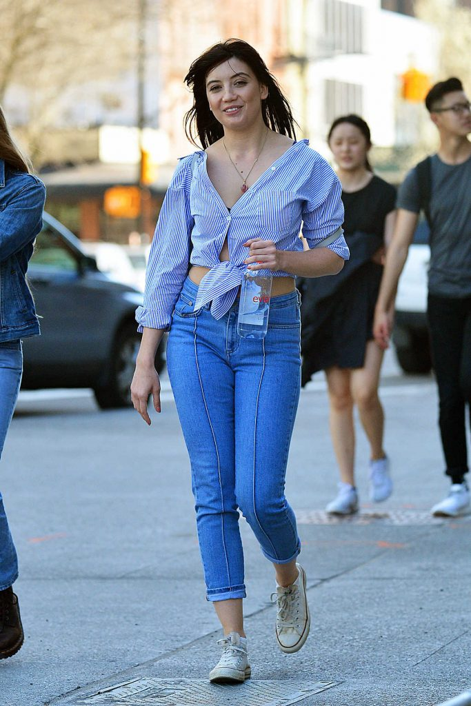 Daisy Lowe Was Seen Out in SoHo, New York 04/08/2017-1