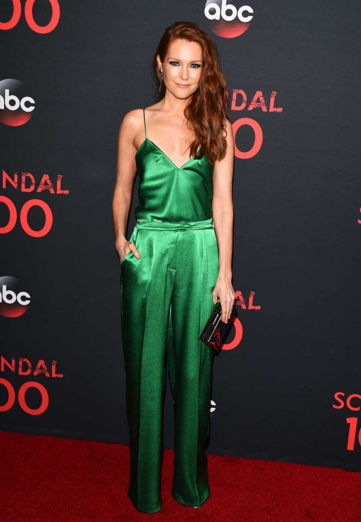 Darby Stanchfield at ABC's Scandal 100th Episode Celebration in West Hollywood 04/08/2017-1
