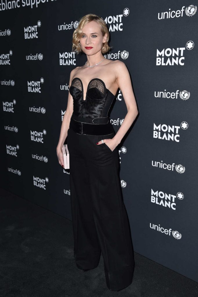 Diane Kruger at the Montblanc for UNICEF Collection Launch in New York 04/03/2017-1