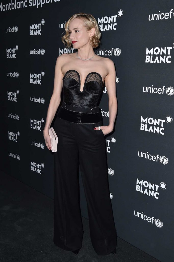 Diane Kruger at the Montblanc for UNICEF Collection Launch in New York 04/03/2017-2