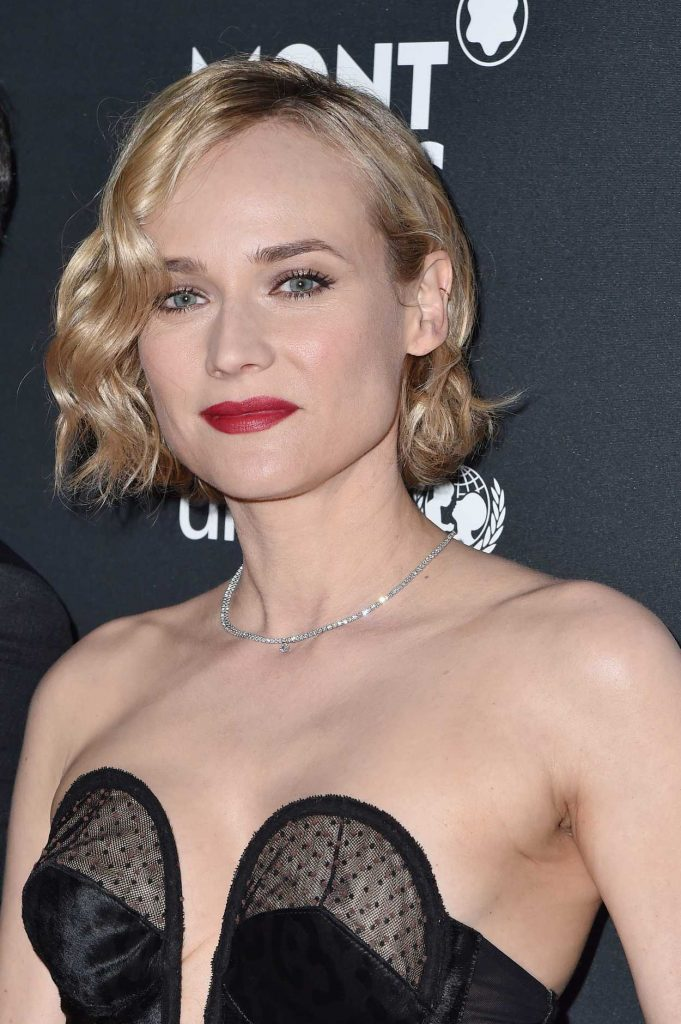 Diane Kruger at the Montblanc for UNICEF Collection Launch in New York 04/03/2017-3