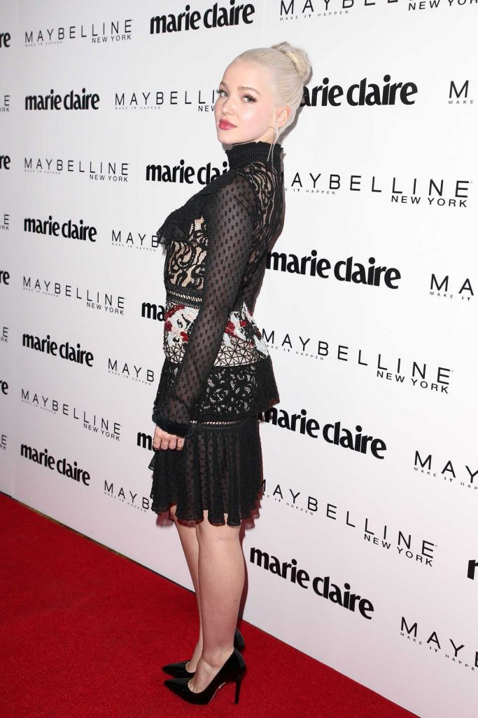 Dove Cameron at the Marie Claire Celebrates Fresh Faces Event in Los Angeles 04/21/2017-3