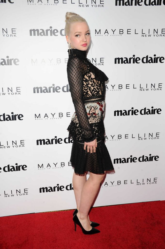 Dove Cameron at the Marie Claire Celebrates Fresh Faces Event in Los Angeles 04/21/2017-4