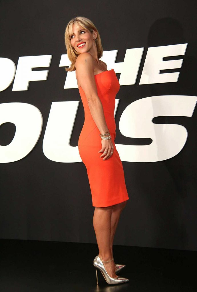 Elsa Pataky at the Fate of the Furious Premiere in New York 04/08/2017-2
