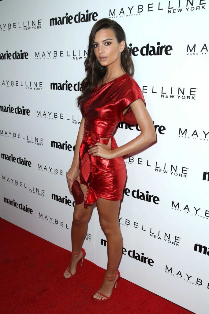 Emily Ratajkowski at the Marie Claire Celebrates Fresh Faces Event in Los Angeles 04/21/2017-2