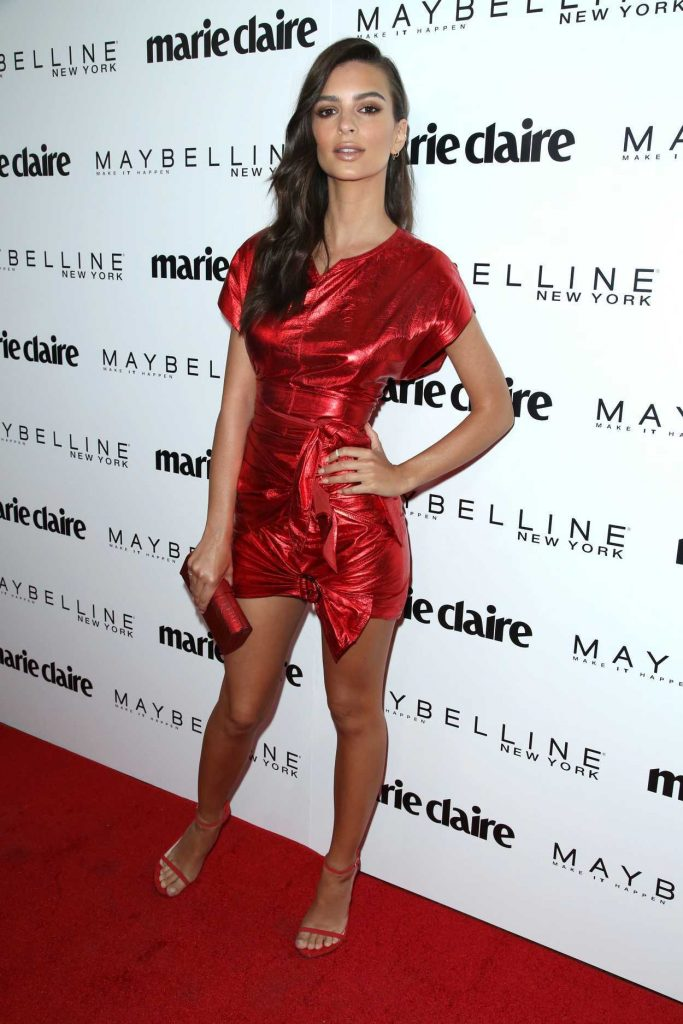 Emily Ratajkowski at the Marie Claire Celebrates Fresh Faces Event in Los Angeles 04/21/2017-3