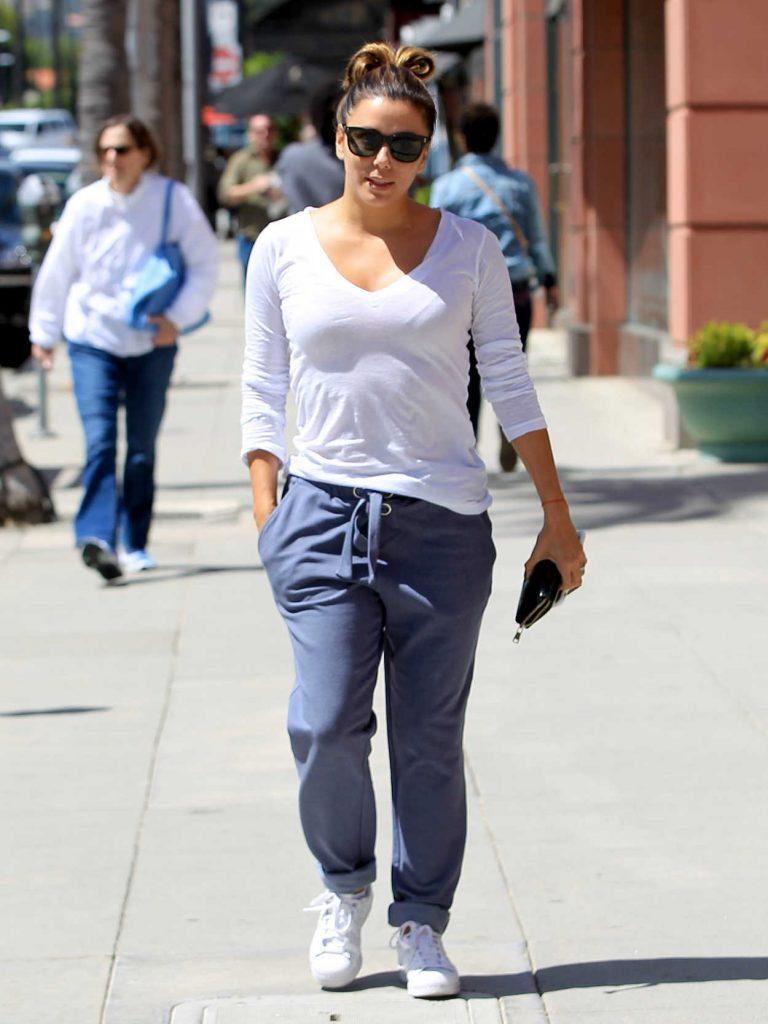 Eva Longoria Leaves the Anastasia Spa in Beverly Hills 04/13/2017-1