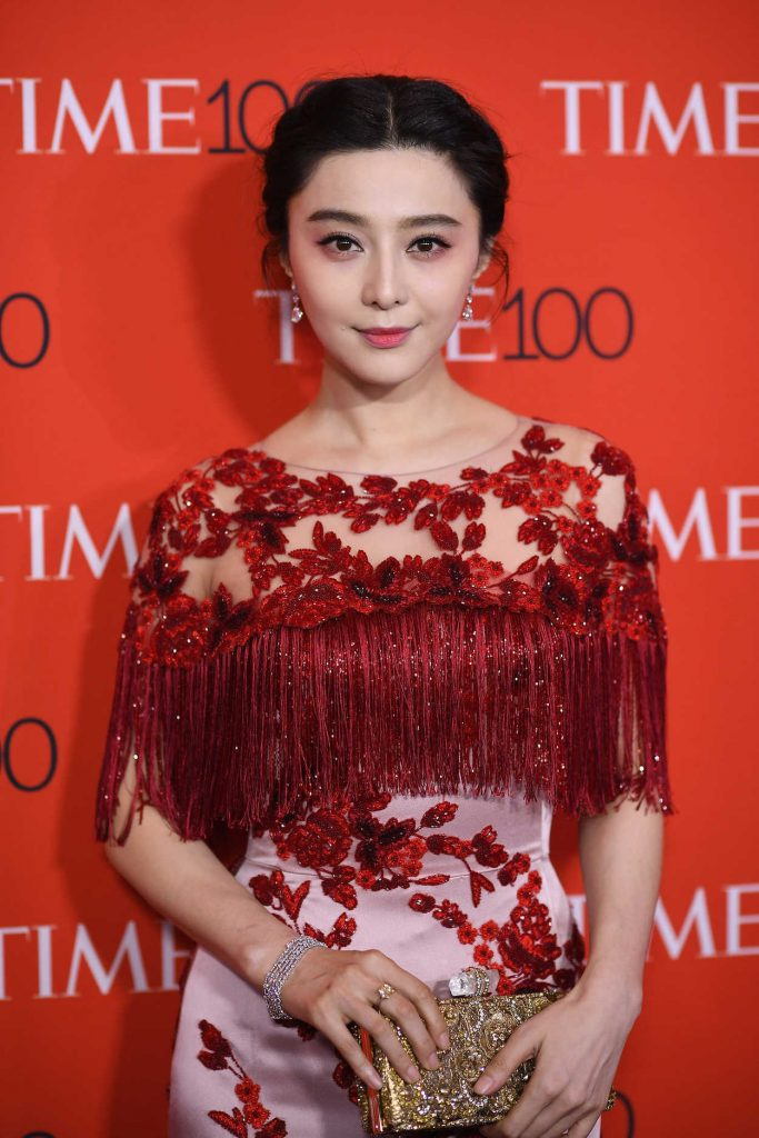 Fan Bingbing at the 2017 Time 100 Gala at Jazz at Lincoln Center in New York 04/25/2017-1