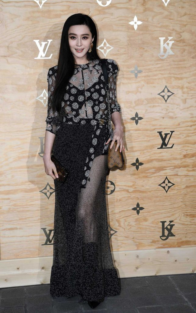 Fan Bingbing at the Louis Vuitton Dinner Party at the Louvre in Paris 04/11/2017-1