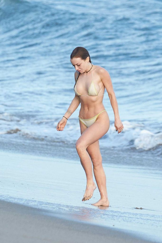 Francesca Eastwood in Bikini at the Beach in Malibu 03/30/2017-1