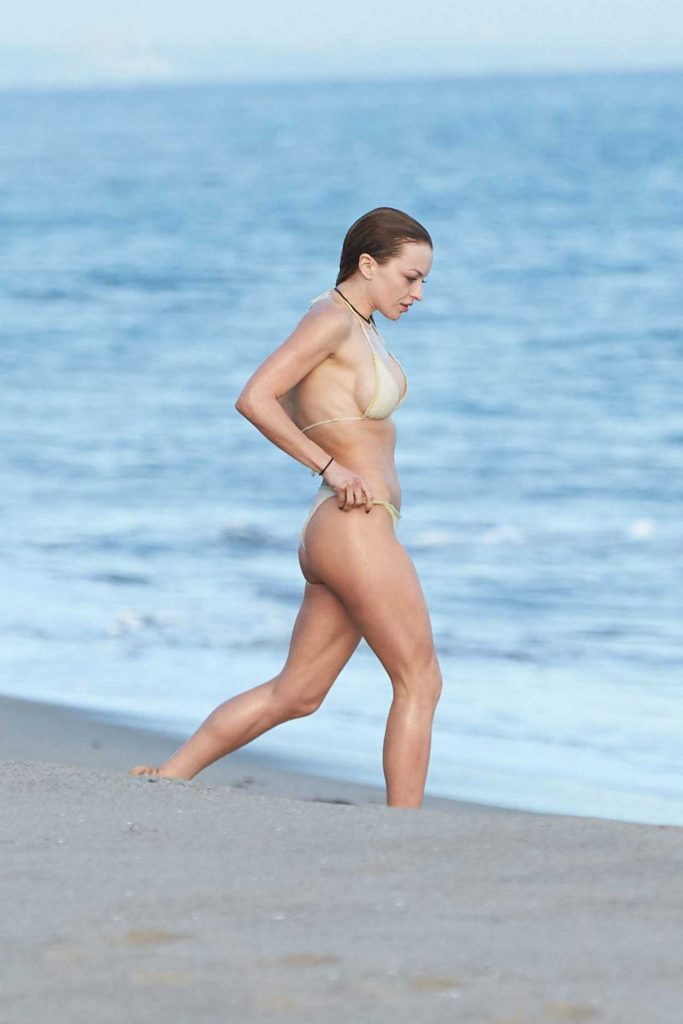 Francesca Eastwood in Bikini at the Beach in Malibu 03/30/2017-2