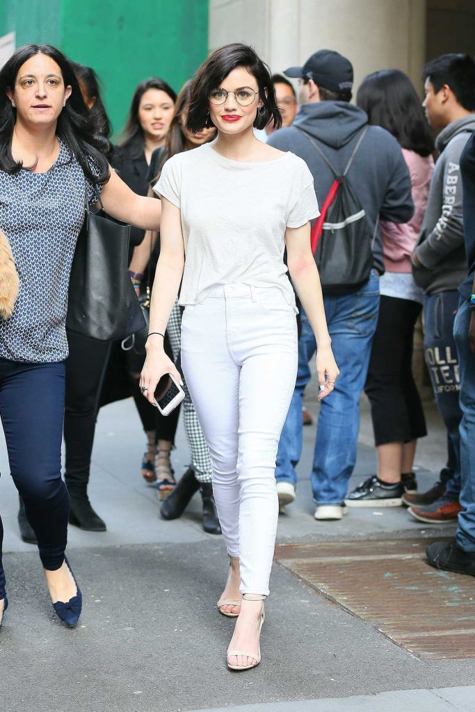 Lucy Hale Was Seen Out in NYC 04/17/2017-2