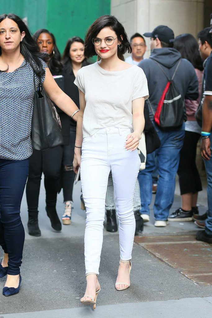 Lucy Hale Was Seen Out in NYC 04/17/2017-3