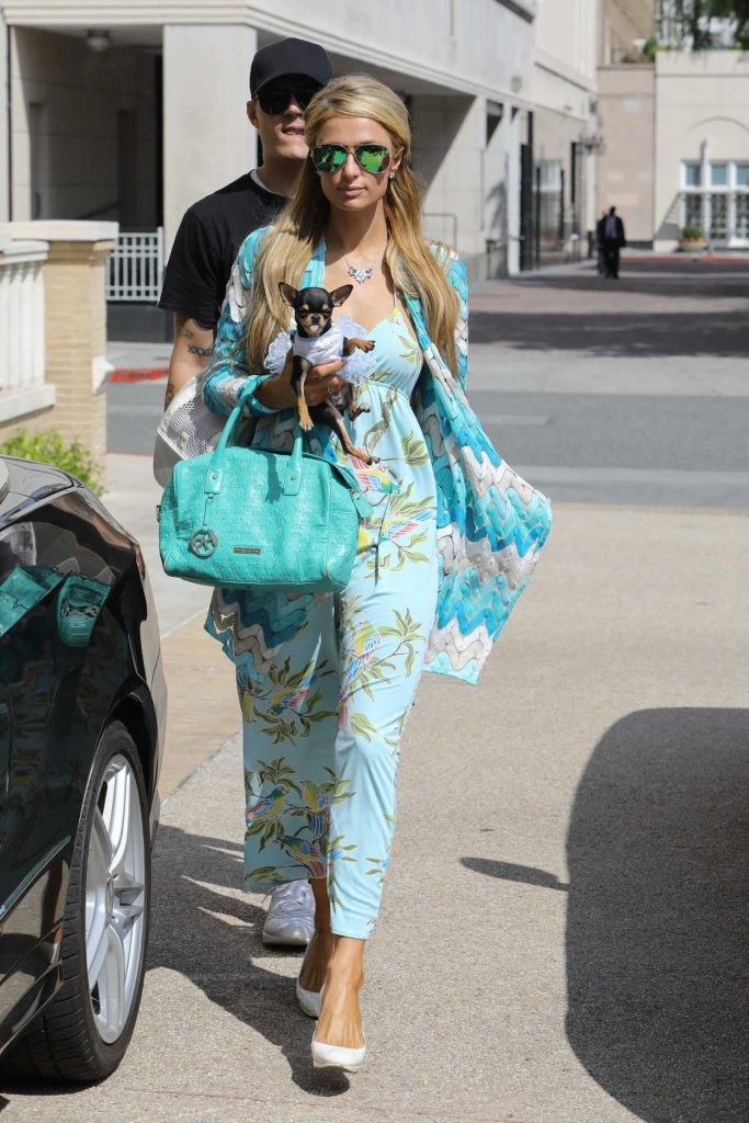Paris Hilton Was Seen Out in Los Angeles 04/03/2017-1