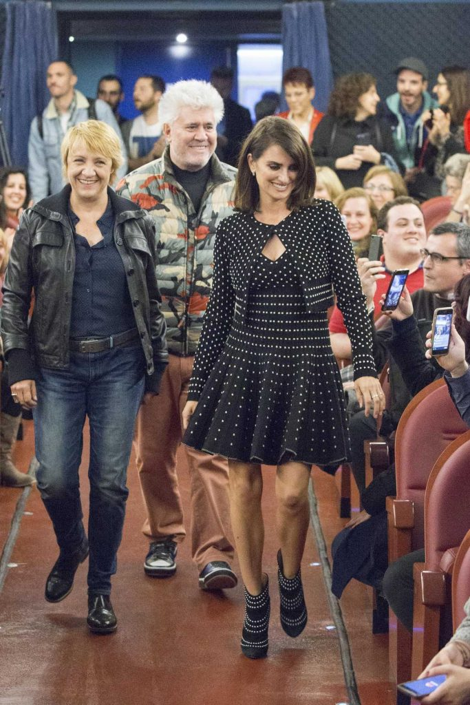 Penelope Cruz Closes a Film Series Dedicated to Pedro Almodovar in Madrid 03/31/2017-3