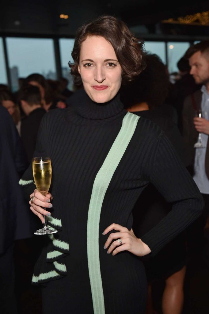 Phoebe Waller-Bridge at the British Academy Television and Craft Awards Nominees Party in London 04/20/2017-4