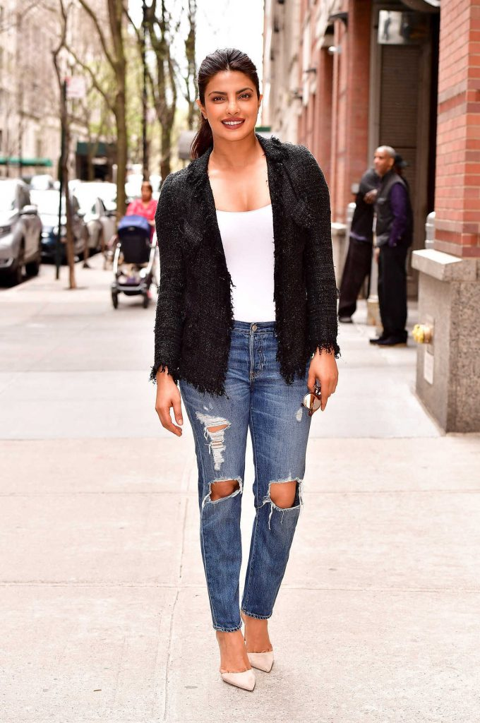 Priyanka Chopra Leaves ABC's Live With Kelly in NYC 04/17/2017-2