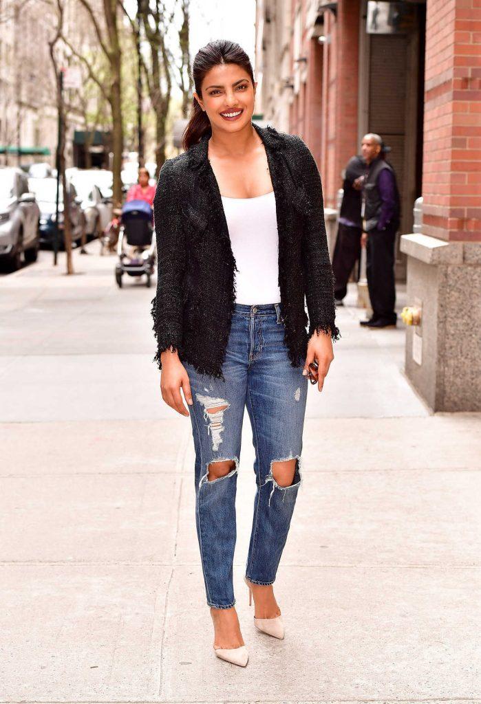 Priyanka Chopra Leaves ABC's Live With Kelly in NYC 04/17/2017-3