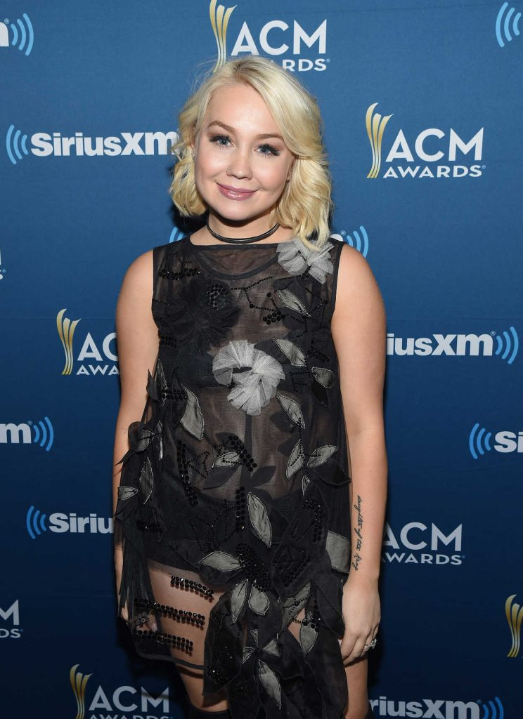 RaeLynn at the Highway Channel Broadcasts Backstage at T-Mobile Arena in Las Vegas 03/31/2017-2