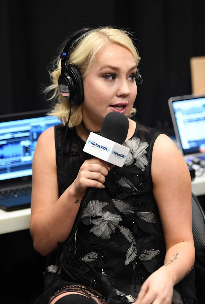 RaeLynn at the Highway Channel Broadcasts Backstage at T-Mobile Arena in Las Vegas 03/31/2017-5